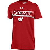 Under Armour Youth Wisconsin Badgers Red Off-Shore Deco T-Shirt