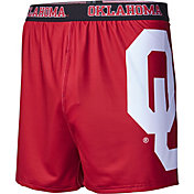 Fandemics Men's Oklahoma Sooners Crimson Center Seam Base Layer Boxers