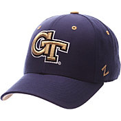 Zephyr Men's Georgia Tech Yellow Jackets Navy DH Fitted Hat