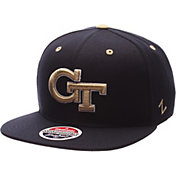 Zephyr Men's Georgia Tech Yellow Jackets Navy Z-Wool Z11 Snapback Hat