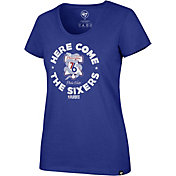 "'47 Women's Philadelphia 76ers ""Here Comes The Sixers"" Scoop Neck T-Shirt"