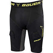 Bauer Senior Premium Compression Jock Hockey Shorts
