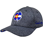 Black Clover Men's Colorado Flag Heather Golf Hat