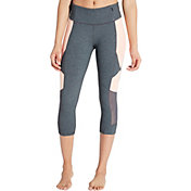 CALIA by Carrie Underwood Women's Essential Heather Jacquard Capris