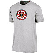 Champion Men's Louisiana-Lafayette Ragin' Cajuns Grey Crew Performance T-Shirt