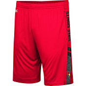 Colosseum Men's Illinois State Redbirds Red Perfect Season Shorts
