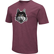 Colosseum Men's Loyola Chicago Ramblers Maroon Dual Blend T-Shirt