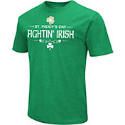 Colosseum Men's Notre Dame Fighting Irish Kelly Green St. Patrick's Day Dual Blend T-Shirt
