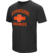 Colosseum Men's Syracuse Orange Grey Tri-Blend T-Shirt