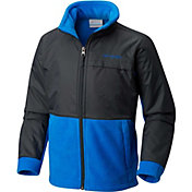 Columbia Boys' Steens Mountain Overlay Fleece Jacket