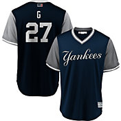 Majestic Men's New York Yankees Giancarlo Stanton 'G' MLB Players Weekend Jersey