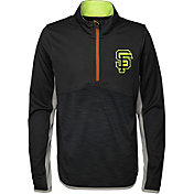 Majestic Youth San Francisco Giants Excellence Quarter-Zip Fleece