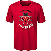 Majestic Youth Indianapolis Indians Red T-Shirt