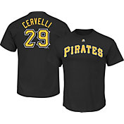 Majestic Youth Pittsburgh Pirates Francisco Cervelli Black T-Shirt