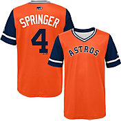 Majestic Youth Houston Astros George Springer 'Springer' MLB Players Weekend Jersey Top