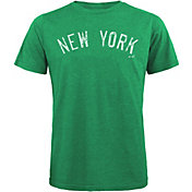 Majestic Threads Men's New York Yankees St. Patrick's Day Tri-Blend T-Shirt