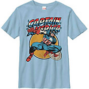 Fifth Sun Boys' Marvel 'Captain America' Graphic T-Shirt