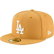 New Era Men's Los Angeles Dodgers 59Fifty Basic Tan Fitted Hat