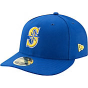 New Era Men's Seattle Mariners 59Fifty Alternate Royal Low Crown Fitted Hat