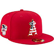 New Era Men's Los Angeles Angels 59Fifty 2018 4th of July Fitted Hat