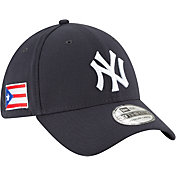 New Era Men's New York Yankees 39Thirty Stretch Fit Hat w/ Puerto Rican Flag Patch
