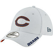 New Era Men's Chicago Bears Sideline Training Camp 39Thirty Grey Stretch Fit Hat