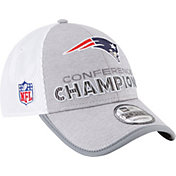 New Era Men's AFC Conference Champions New England Patriots Locker Room 9Forty Adjustable Hat