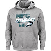 NFL Men's NFC Conference Champions Philadelphia Eagles Wonderstruck Grey Hoodie