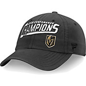 NHL Men's 2018 NHL Western Conference Champions Vegas Golden Knights Unstructured Grey Adjustable Hat