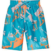 Nike Boy's Drift Graffiti Breaker Swim Trunks