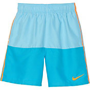 Nike Boy's Solid Split Swim Trunks