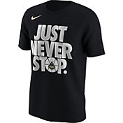 Nike Men's Purdue Boilermakers Black 'Just Never Stop' Selection T-Shirt