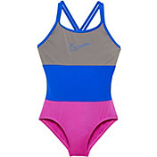 Nike Girl's Surge Spider Back Swimsuit