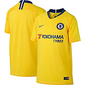Nike Youth Chelsea FC 2018 Breathe Stadium Away Replica Jersey