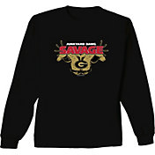 New World Graphics Youth Georgia Bulldogs Savage Long Sleeve Black T-Shirt