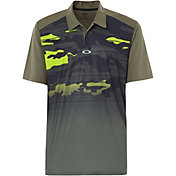 Oakley Men's Deep Rough Camo Golf Polo