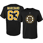 NHL Youth Boston Bruins Brad Marchand #63 Black Tee