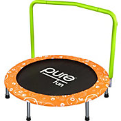 "Pure Fun 36"" Foldable Mini Trampoline with Handrail"
