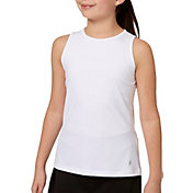 Prince Girls' Sleeveless Match Tank Top