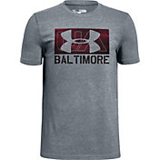 Under Armour Boys' Baltimore Speed Box Graphic T-Shirt