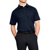 Under Armour Men's Threadborne Outer Glow Golf Polo
