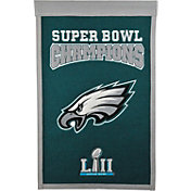 Winning Streak Sports Super Bowl LII Champions Philadelphia Eagles Dynasty Logo Banner