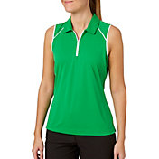 Slazenger Women's Tech Sleeveless Golf Polo